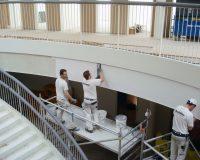 Akustikpuds – Akustikloft: Hempel domicil – atrium