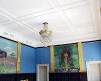 Akustikpuds – Akustikloft: Odense Rådhus – festsalen