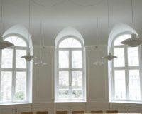 Akustikpuds – Akustikloft: Pædagogseminarium – København