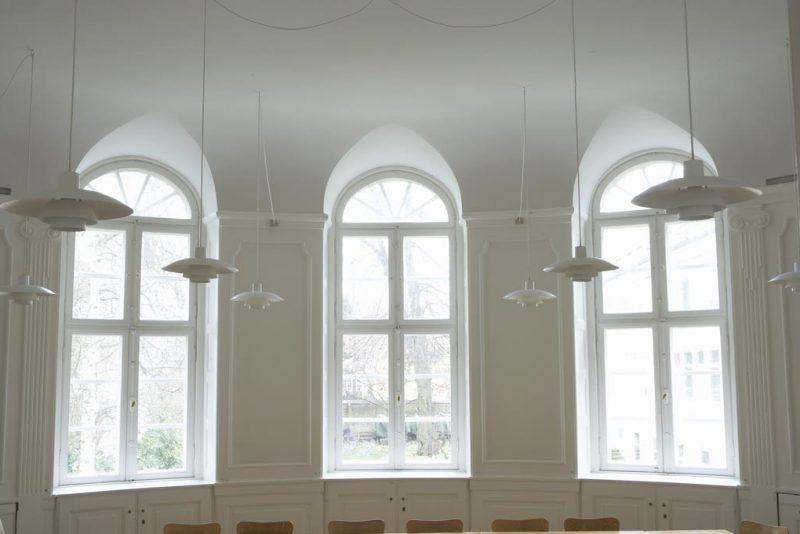 Akustikpuds - Akustikloft: Pædagogseminarium - København