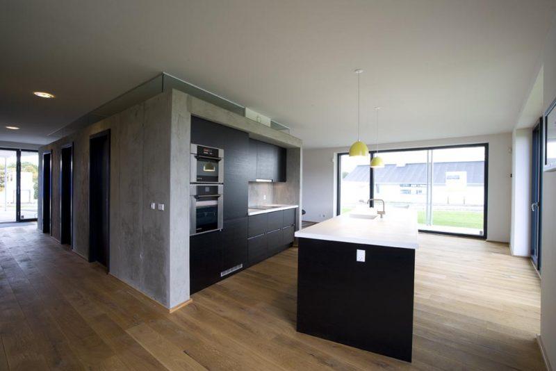 Akustikpuds - Akustikloft: Privat hjem Komforthus - Skibet - Vejle